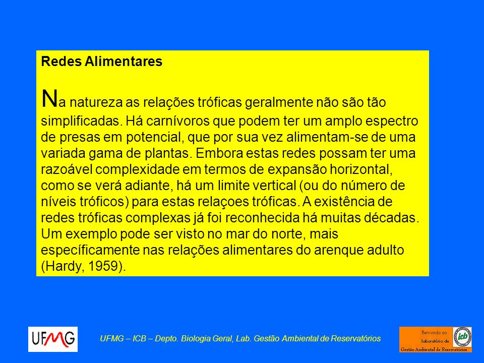 Redes Alimentares