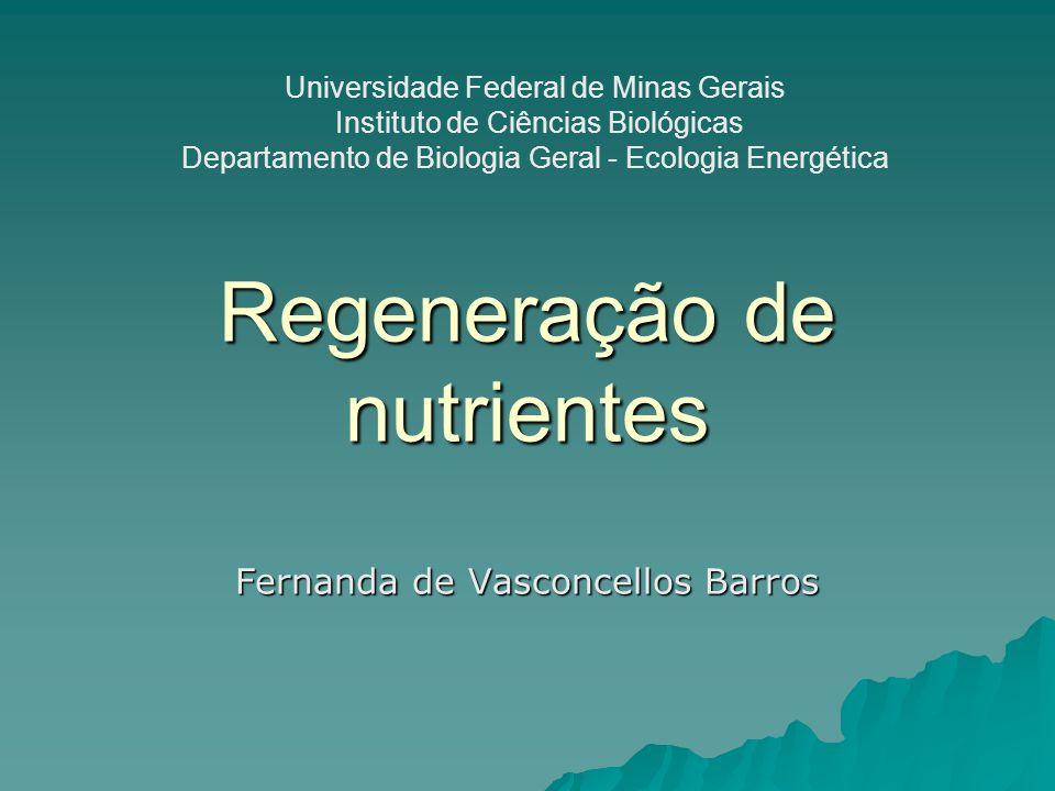 Regeneração de nutrientes