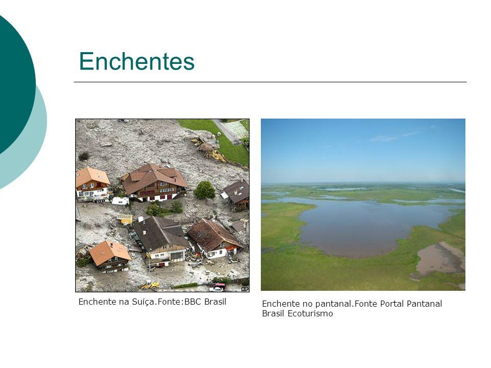 Enchentes Enchente na Suíça.Fonte:BBC Brasil