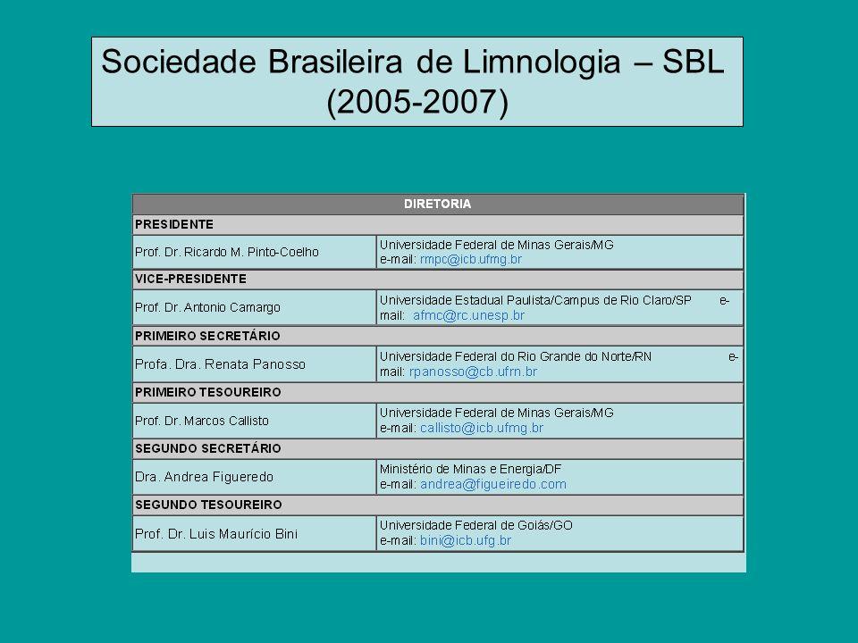 Sociedade Brasileira de Limnologia – SBL