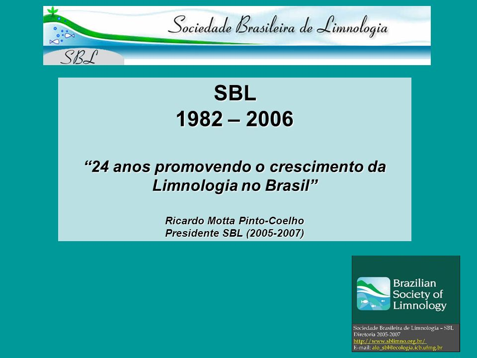 24 anos promovendo o crescimento da Ricardo Motta Pinto-Coelho
