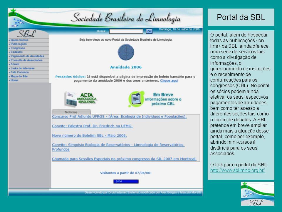 Portal da SBL