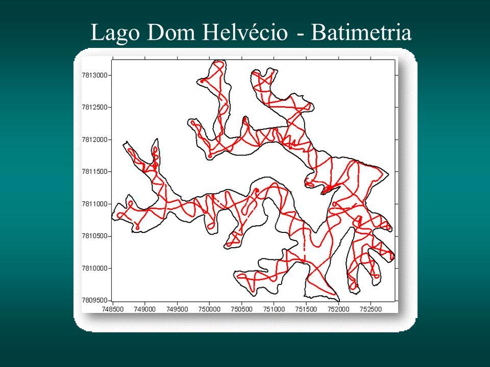 Lago Dom Helvécio - Batimetria
