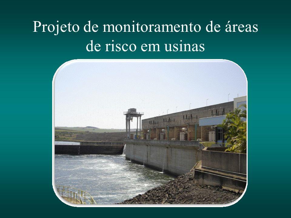 Projeto de monitoramento de áreas de risco em usinas