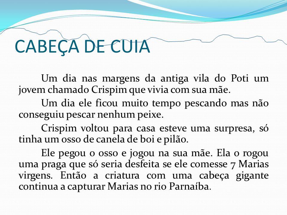 CABEÇA DE CUIA