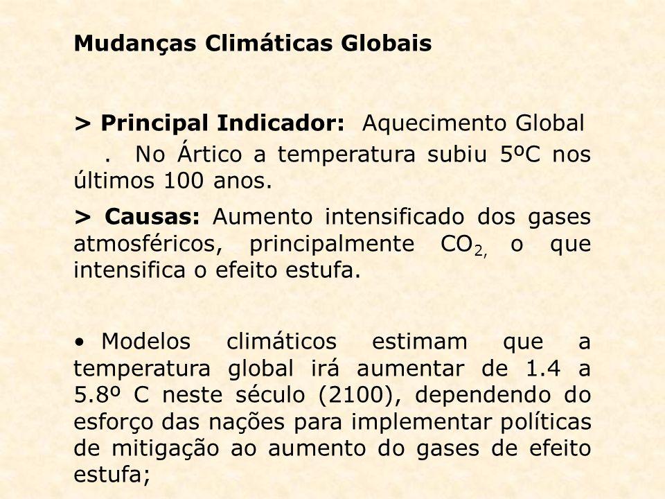 Mudanças Climáticas Globais