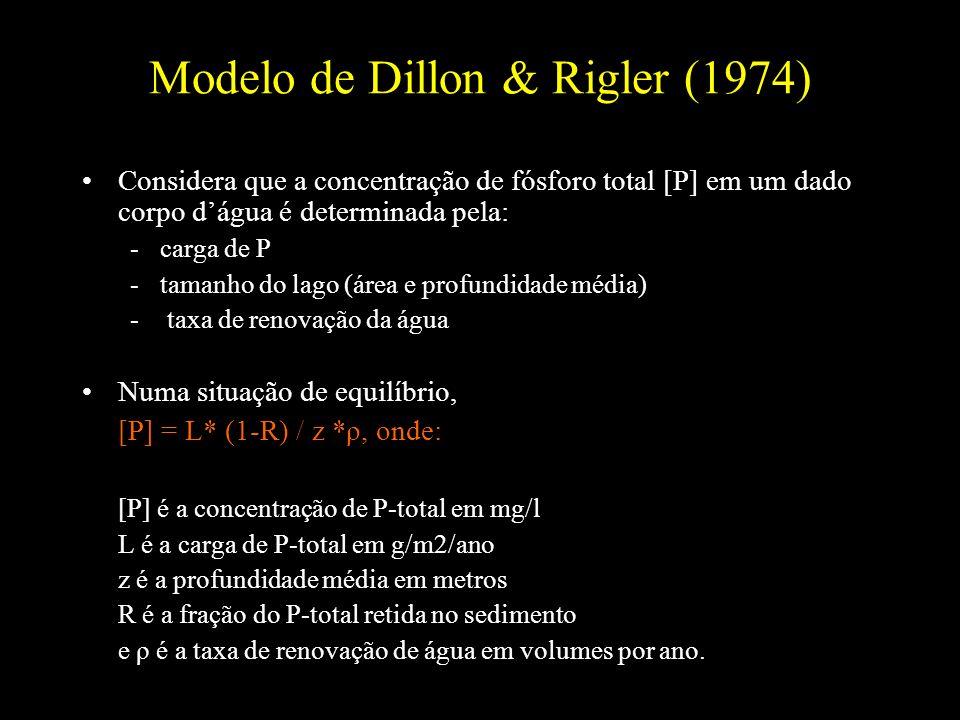 Modelo de Dillon & Rigler (1974)