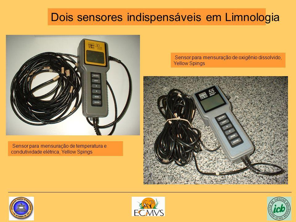 Dois sensores indispensáveis em Limnologia