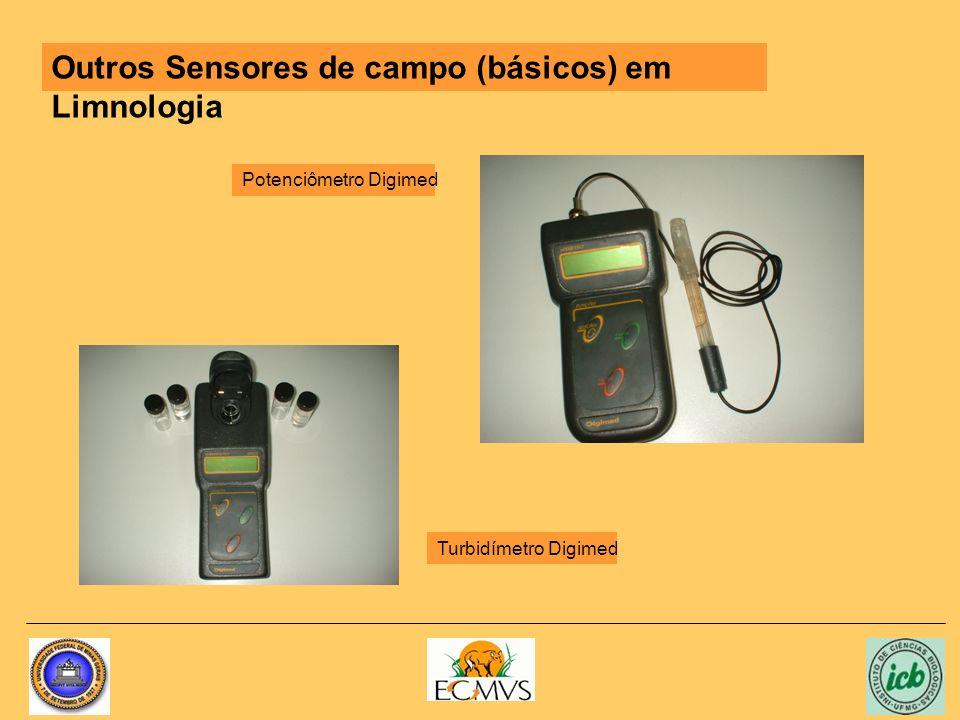 Outros Sensores de campo (básicos) em Limnologia