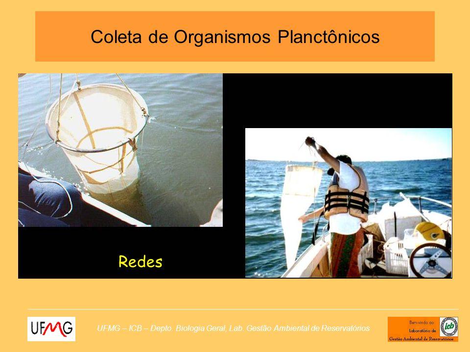 Coleta de Organismos Planctônicos