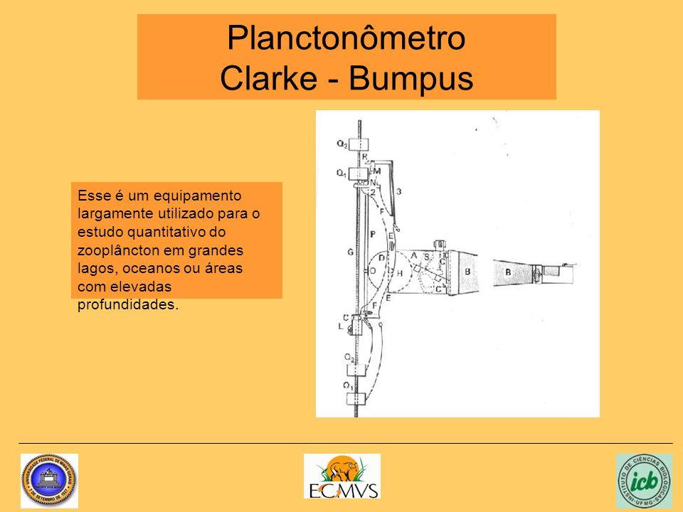 Planctonômetro Clarke - Bumpus