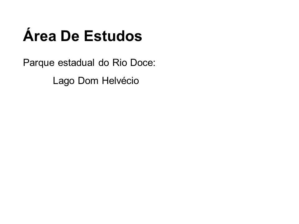 Área De Estudos Parque estadual do Rio Doce: Lago Dom Helvécio