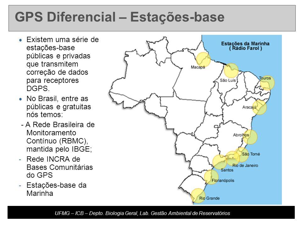GPS Diferencial – Estações-base