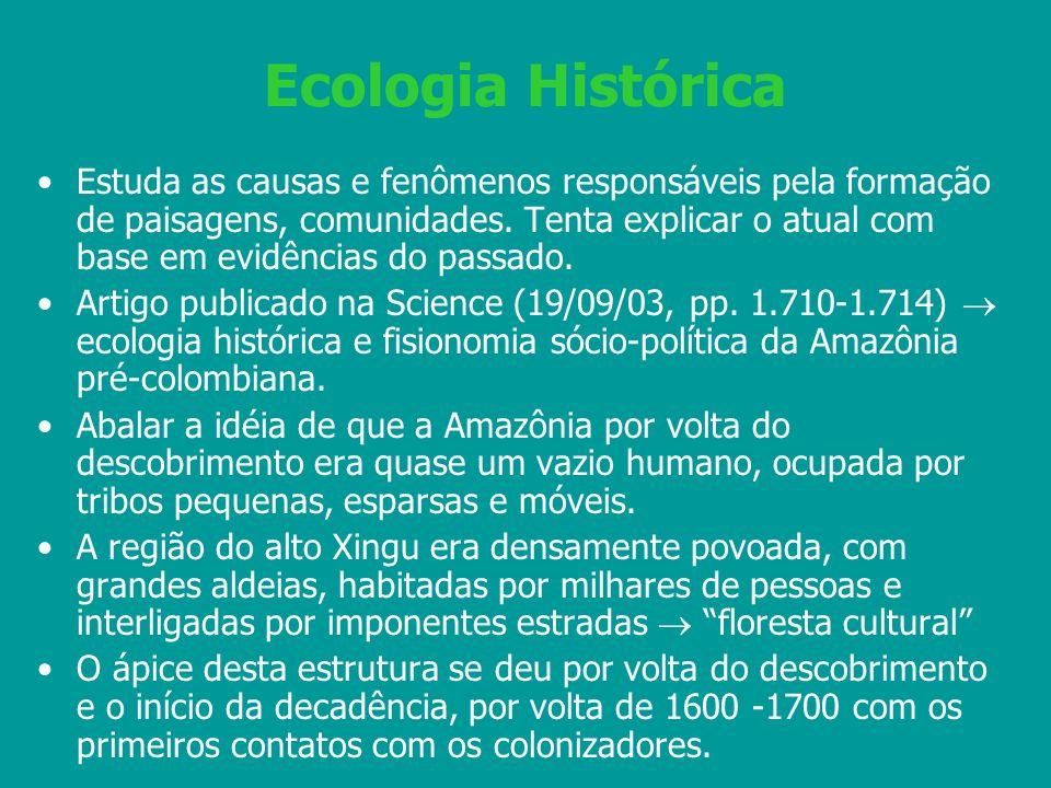 Ecologia Histórica