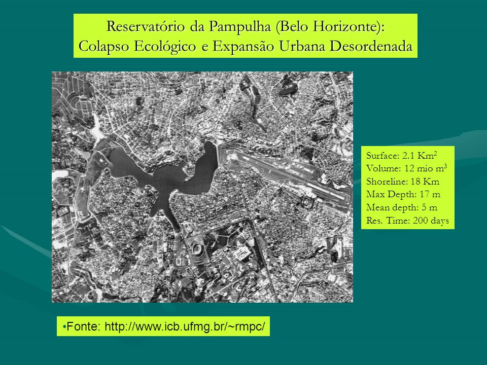 Reservatório da Pampulha (Belo Horizonte):