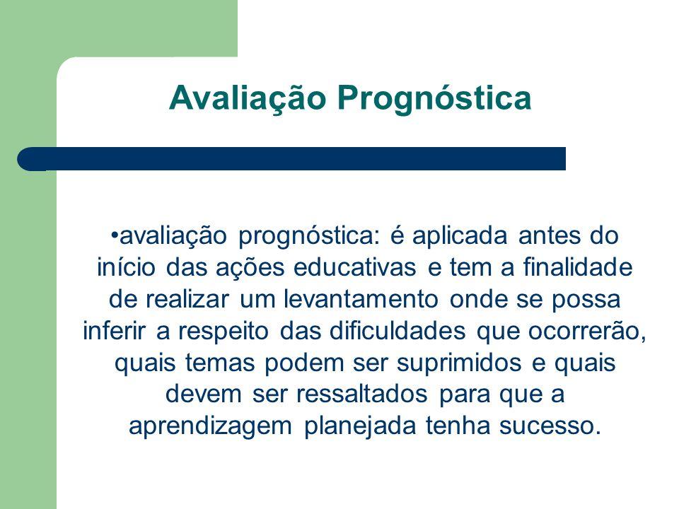 Avaliação Prognóstica