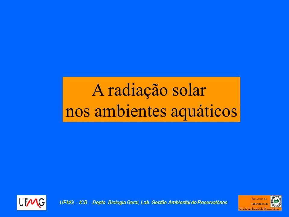 nos ambientes aquáticos