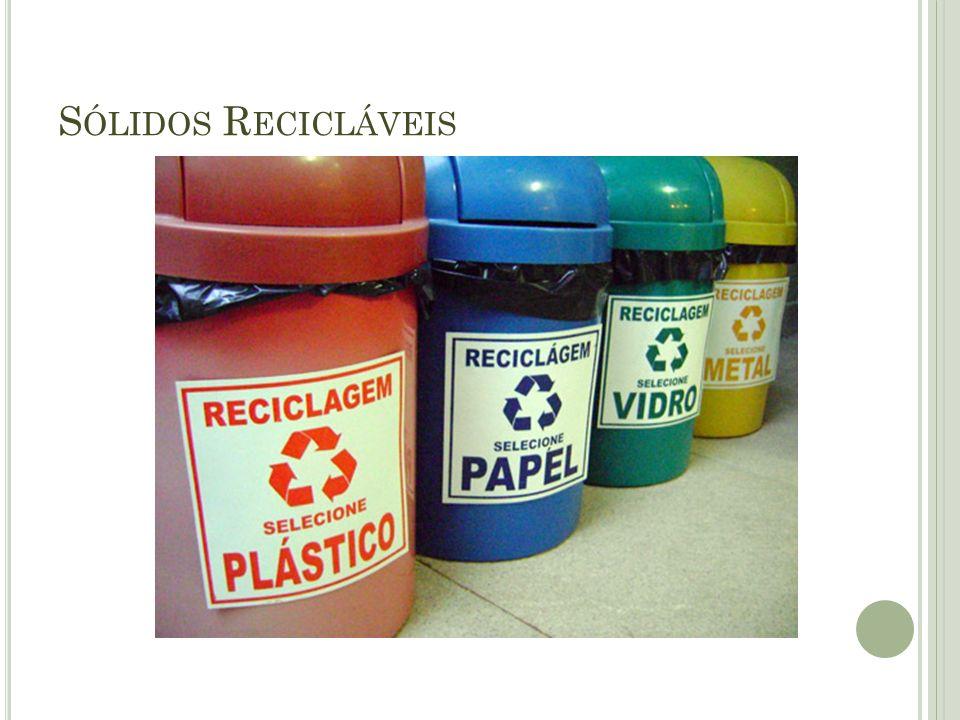 Sólidos Recicláveis