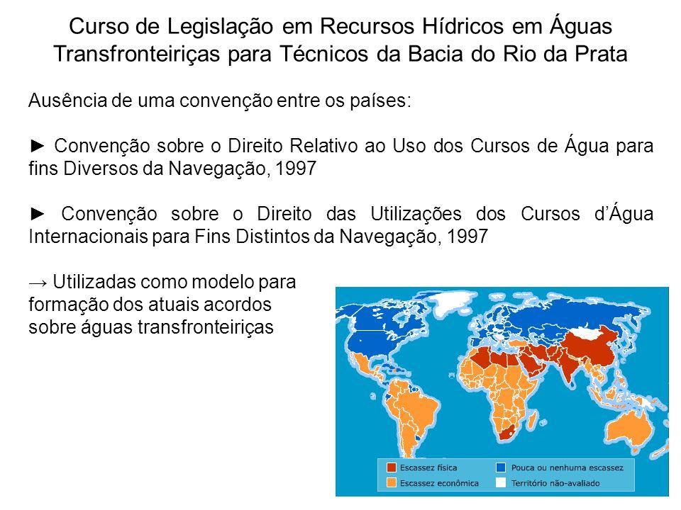 Curso de Legislação em Recursos Hídricos em Águas Transfronteiriças para Técnicos da Bacia do Rio da Prata