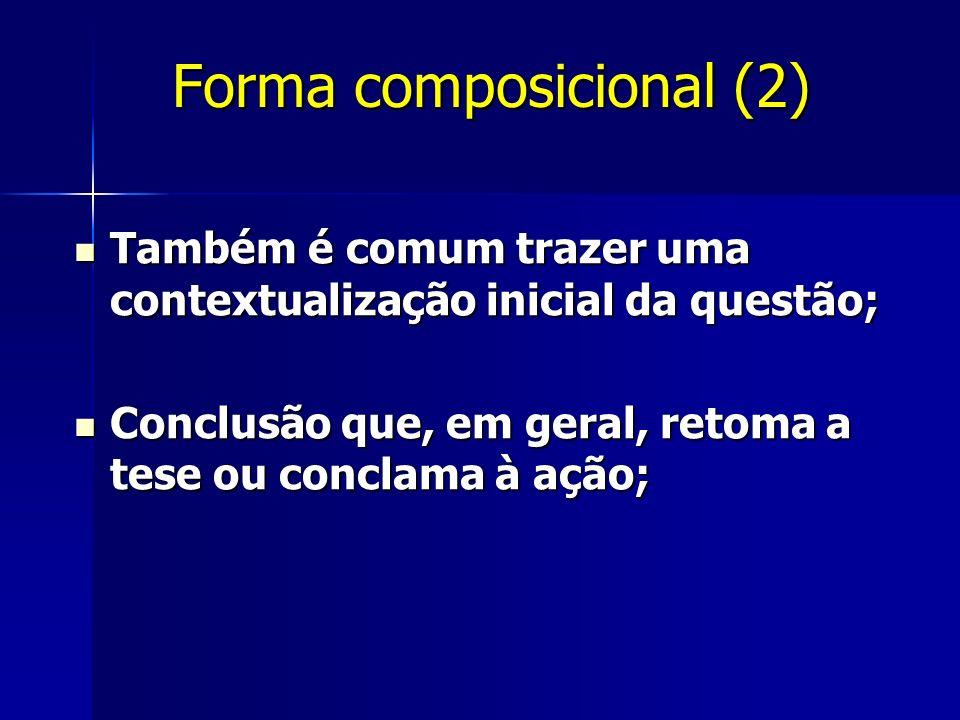 Forma composicional (2)