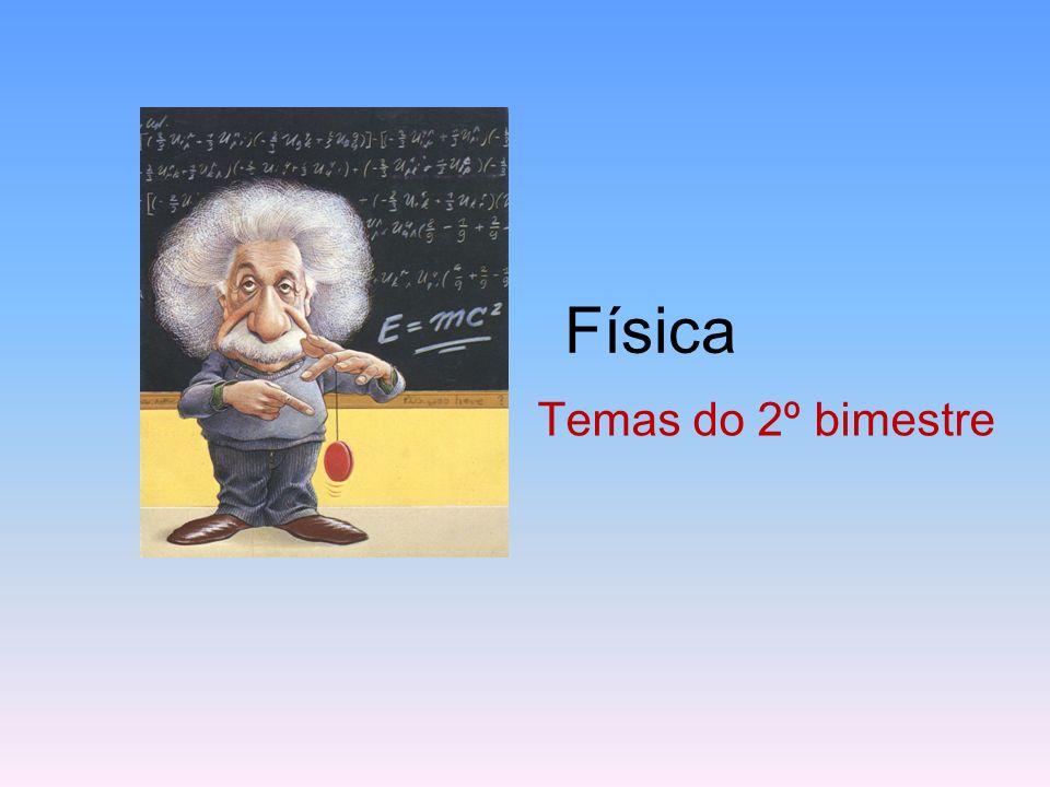 Física Temas do 2º bimestre