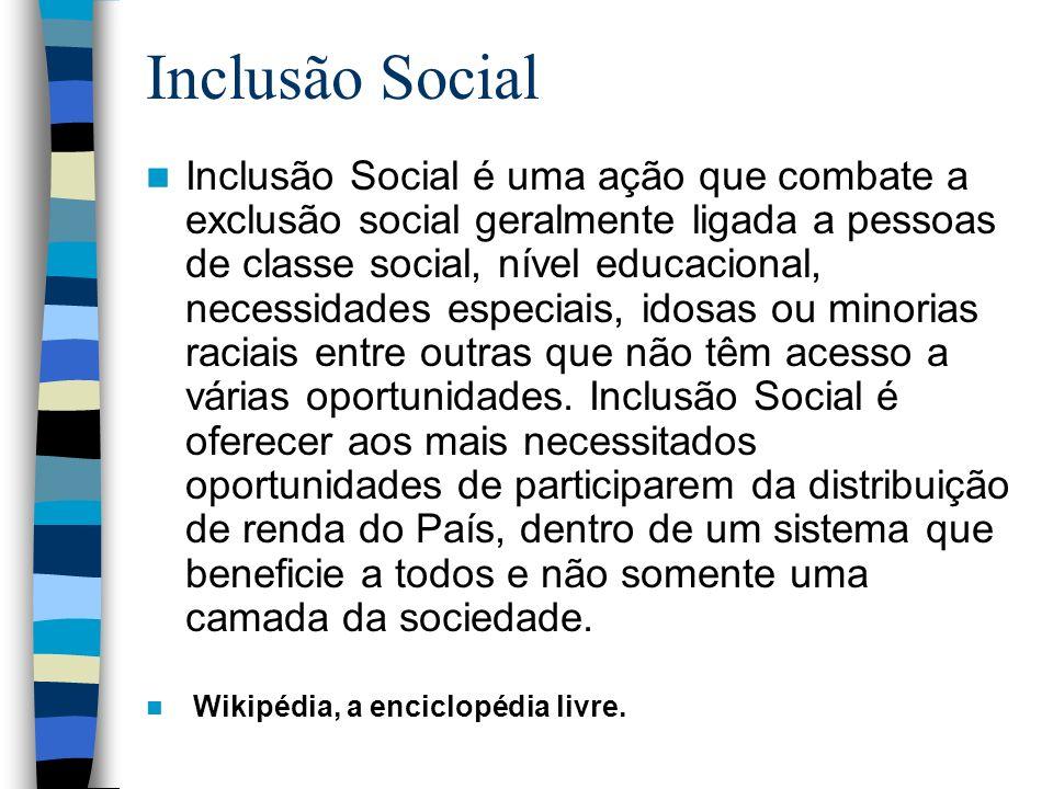 Inclusão Social
