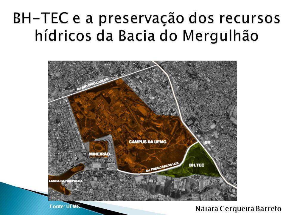 BH-TEC e a preservação dos recursos hídricos da Bacia do Mergulhão
