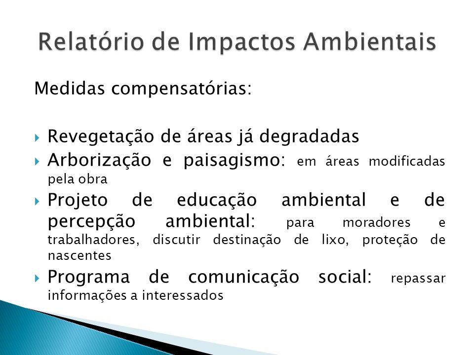 Relatório de Impactos Ambientais