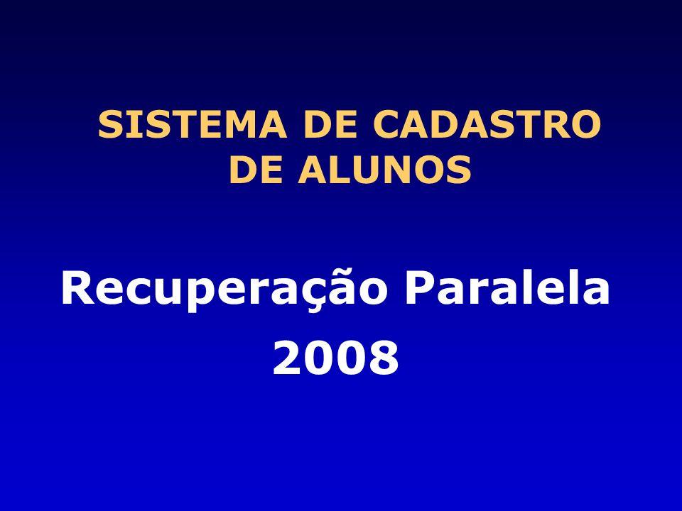 SISTEMA DE CADASTRO DE ALUNOS