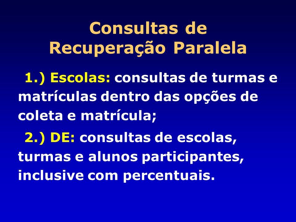 Consultas de Recuperação Paralela