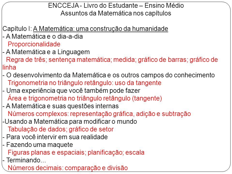 ENCCEJA - Livro do Estudante – Ensino Médio