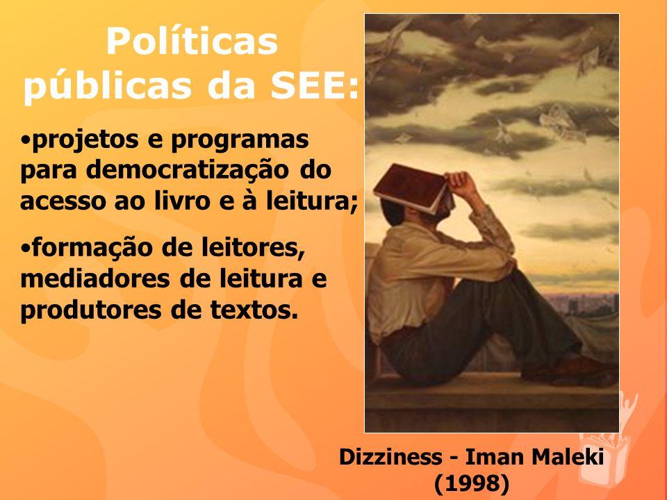 Políticas públicas da SEE: Dizziness - Iman Maleki (1998)