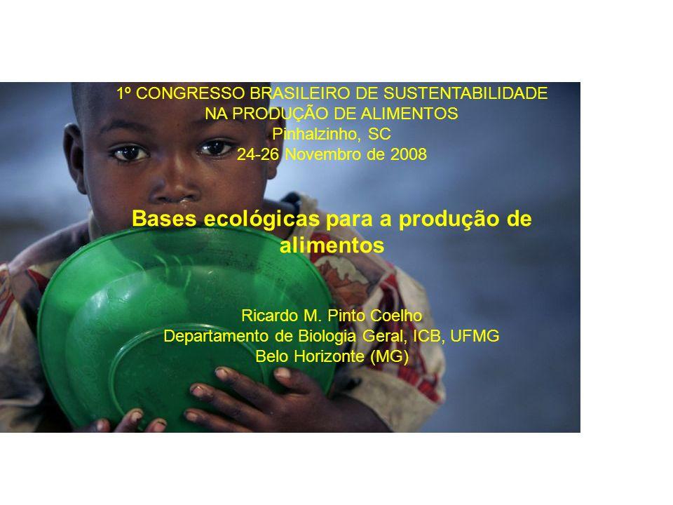 Bases ecológicas para a produção de alimentos