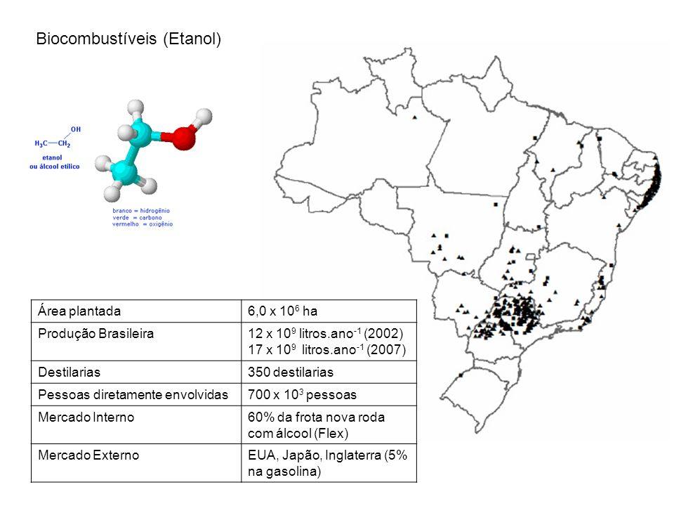 Biocombustíveis (Etanol)