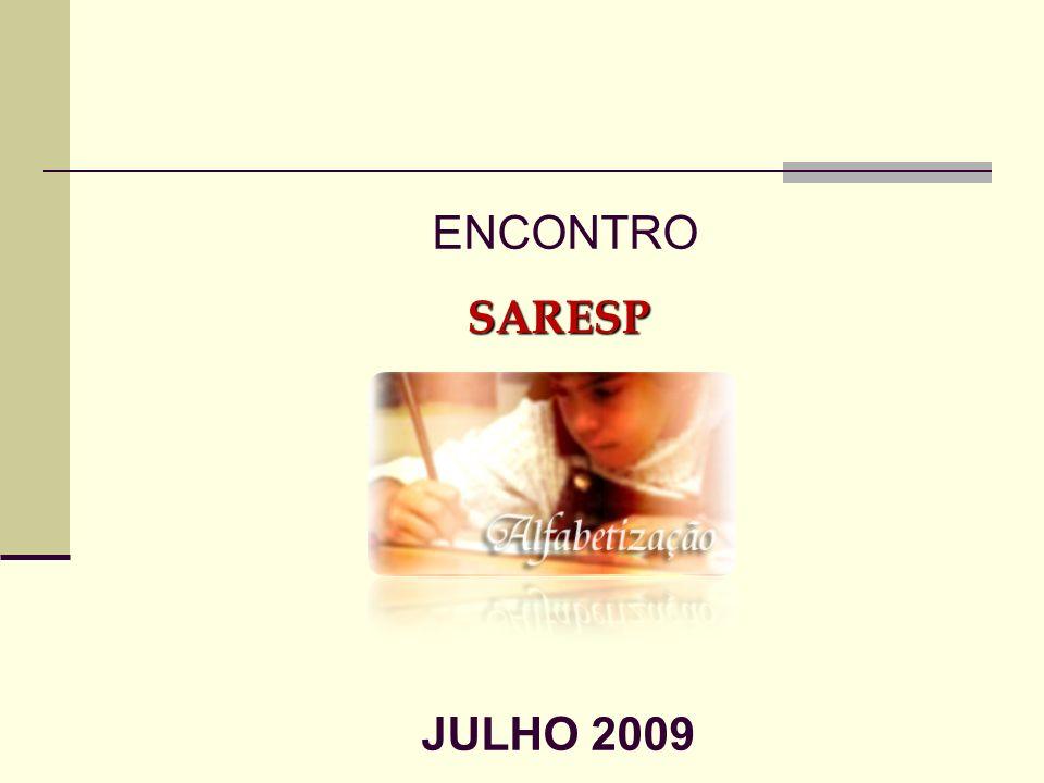 ENCONTRO SARESP JULHO 2009