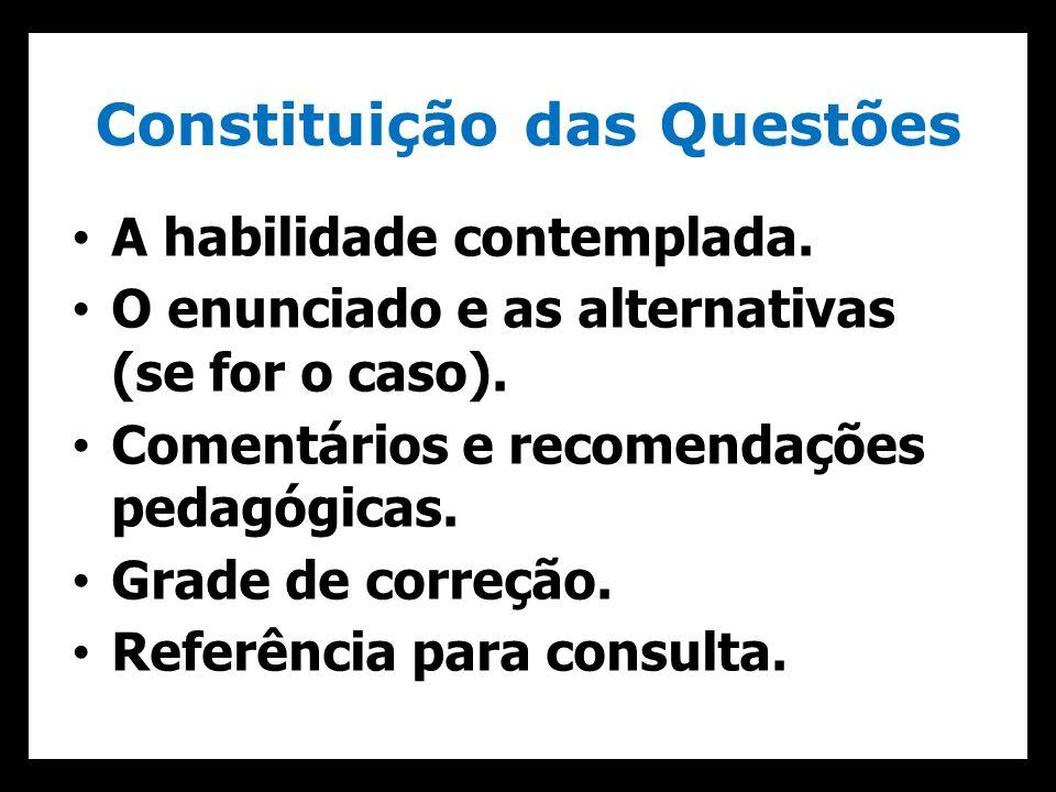 Constituição das Questões