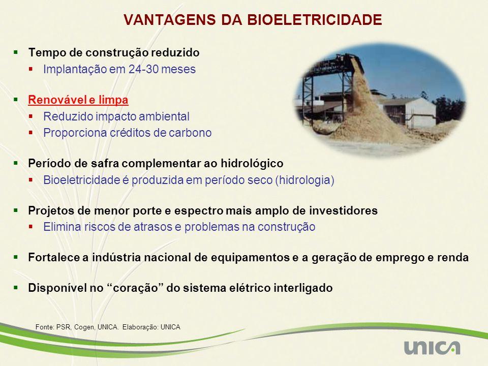 VANTAGENS DA BIOELETRICIDADE