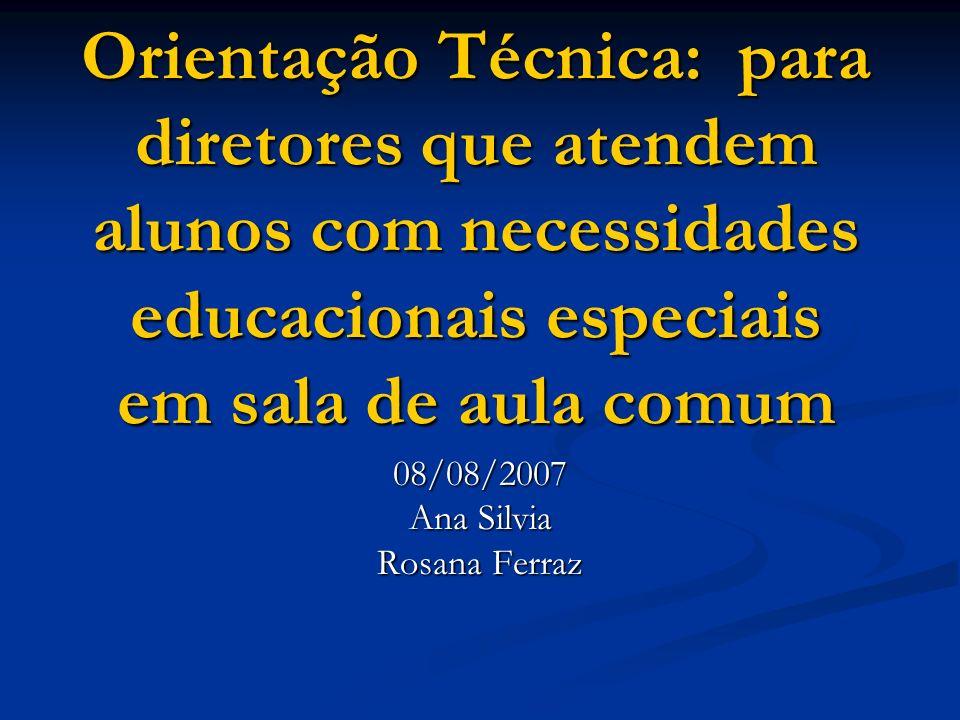 08/08/2007 Ana Silvia Rosana Ferraz