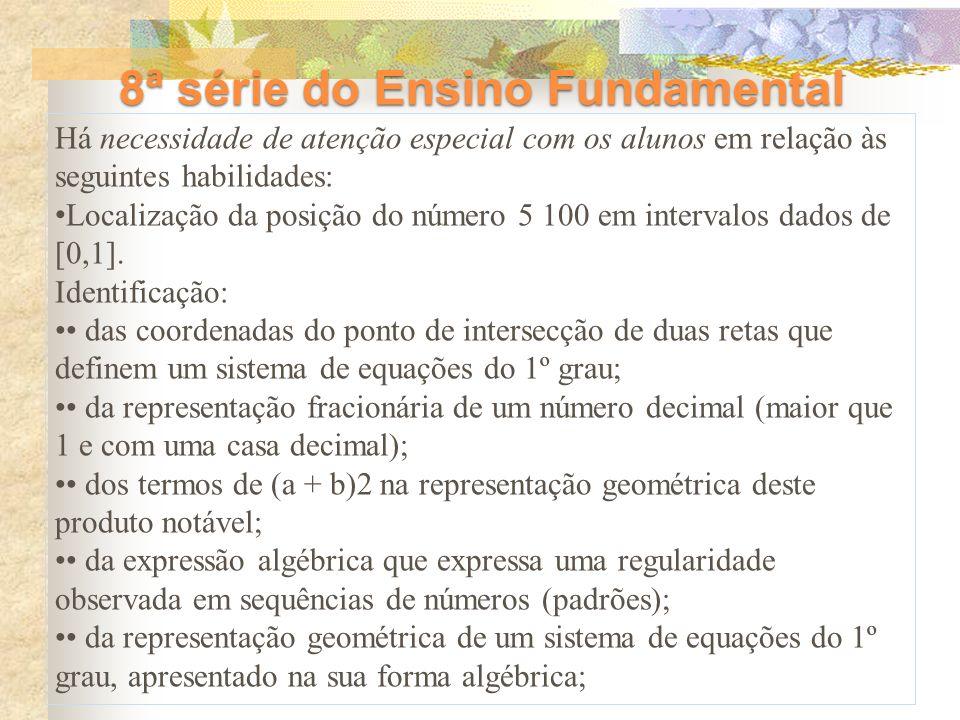 8ª série do Ensino Fundamental