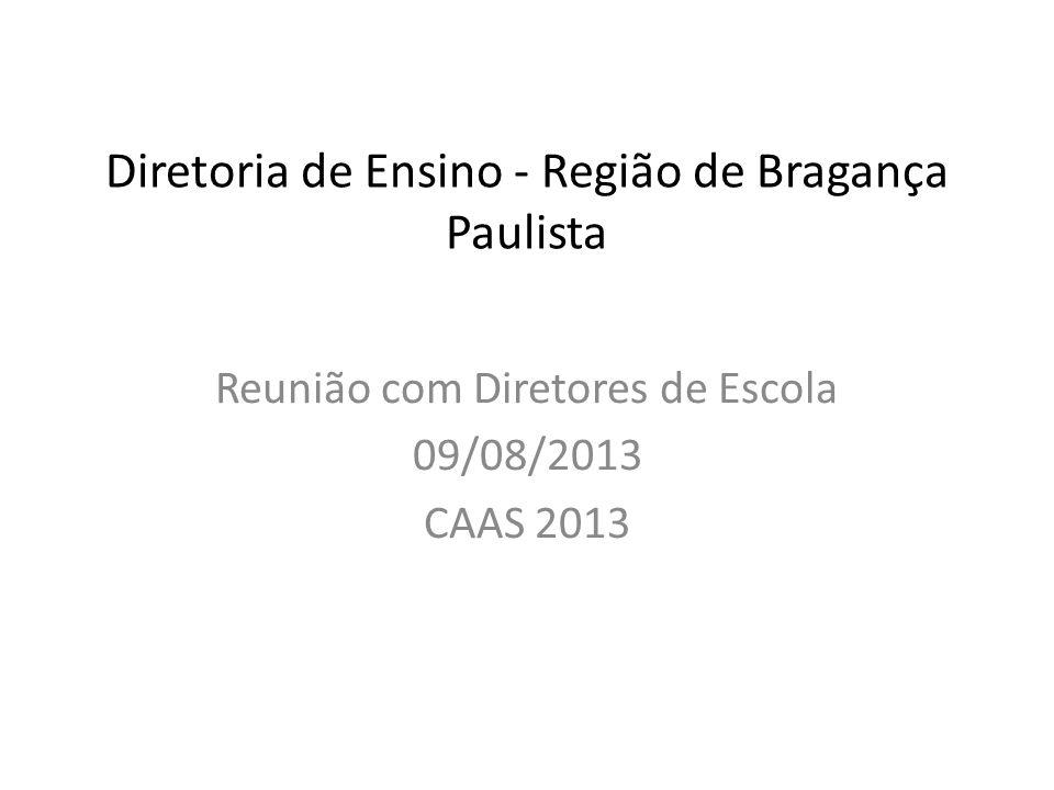 Diretoria de Ensino - Região de Bragança Paulista