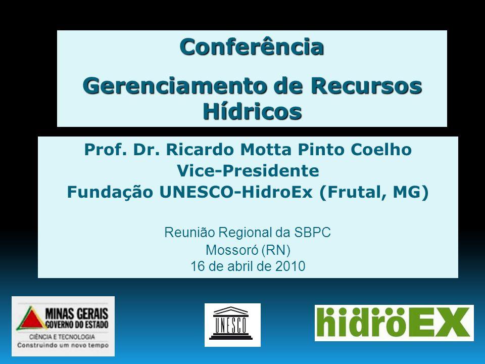Conferência Gerenciamento de Recursos Hídricos
