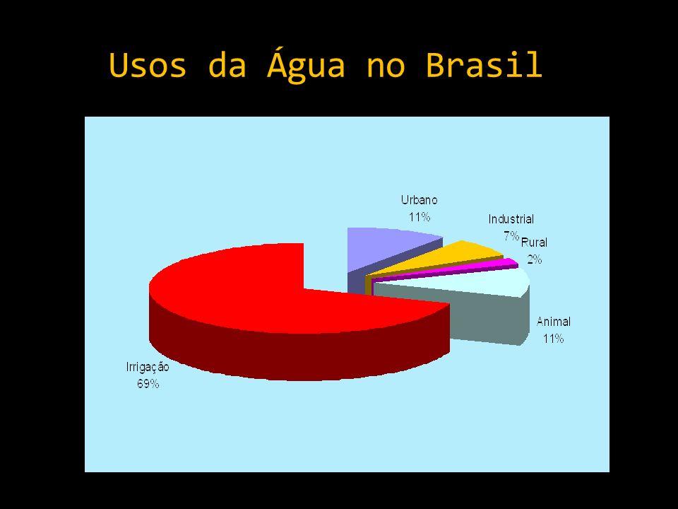 Usos da Água no Brasil
