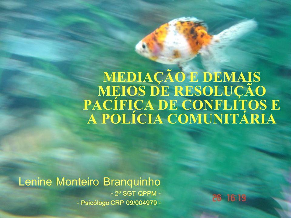 Lenine Monteiro Branquinho - 2º SGT QPPM - - Psicólogo CRP 09/004979 -