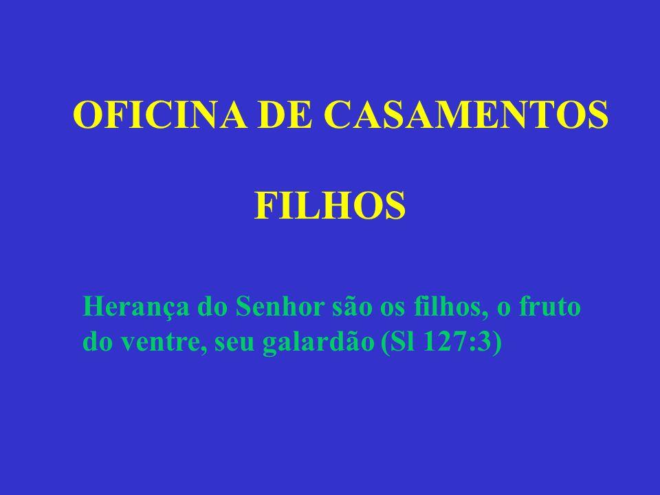 OFICINA DE CASAMENTOS FILHOS