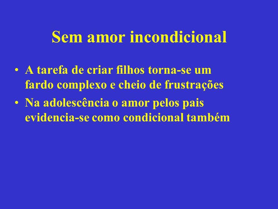 Sem amor incondicional