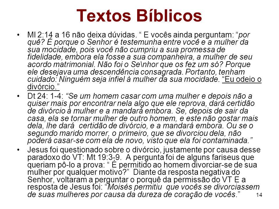 Textos Bíblicos
