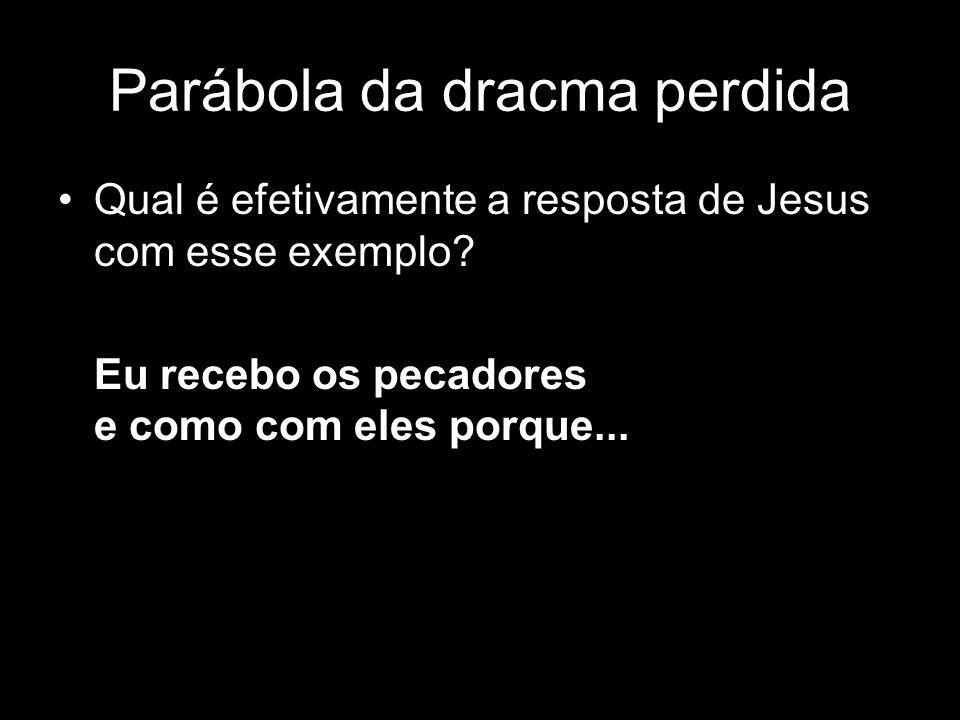 Parábola da dracma perdida