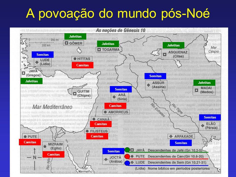 A povoação do mundo pós-Noé