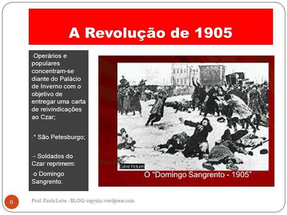 A Revolução de 1905