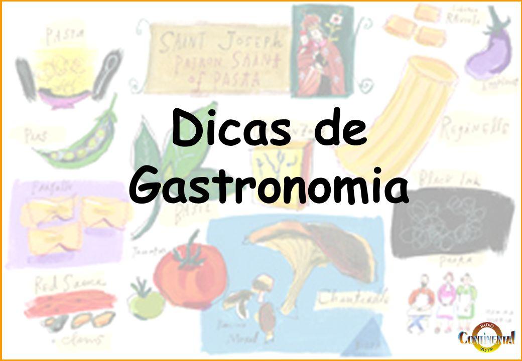 Dicas de gastronomia ppt carregar for Curso de gastronomia pdf